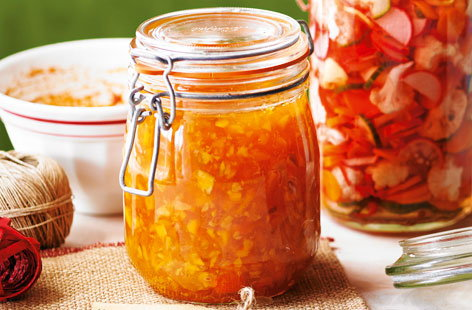 Three-citrus marmalade