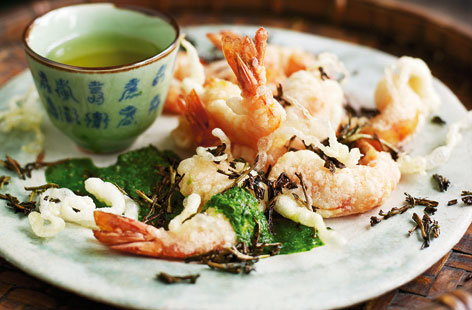 Coriander prawns and longling tea hero eac0ea69 e209 42aa a0fe b04462115278 0 472x310