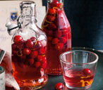 Cranberry gin