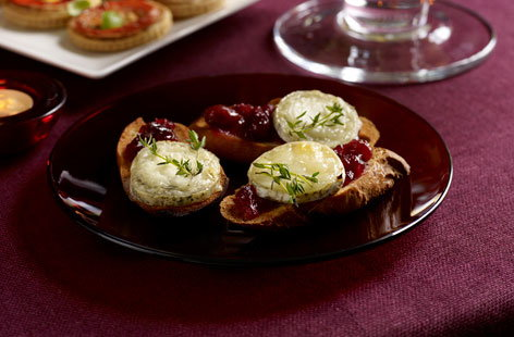 Cranberry and goats cheese bruschettas thumbnail 2357240b b13d 4ff8 98fe 139db1ce515e 0 146x128