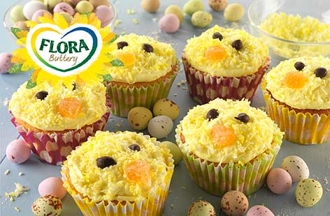Easter Lemon Cupcakes