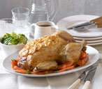 Family Sunday roast chicken