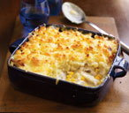 Fish pie with sweetcorn