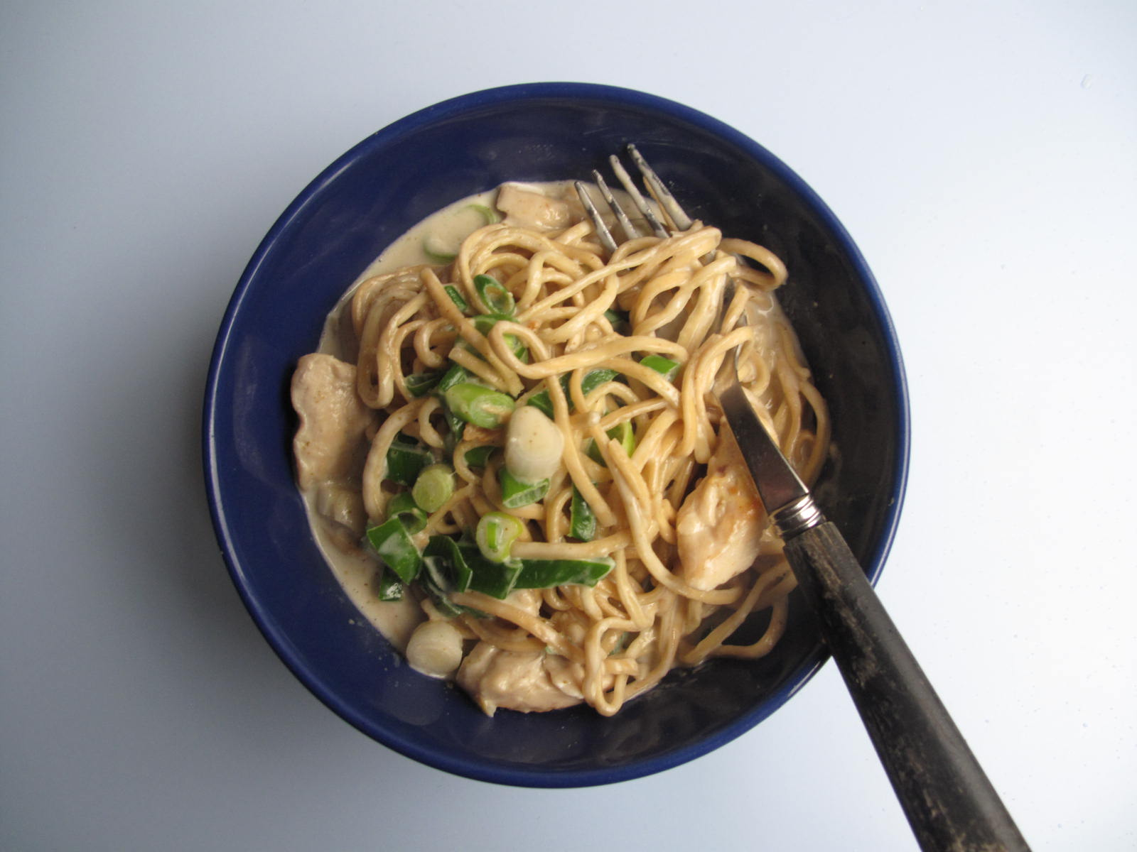 GINGER CHICKEN NOODLES