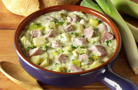 Gammon, Potato and Leek Soup HERO