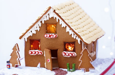 How To Make A Gingerbread House | Tesco Real Food