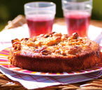 Gooseberry and yogurt cake