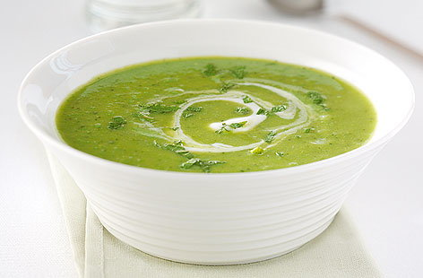 Green Pea & Mint Soup