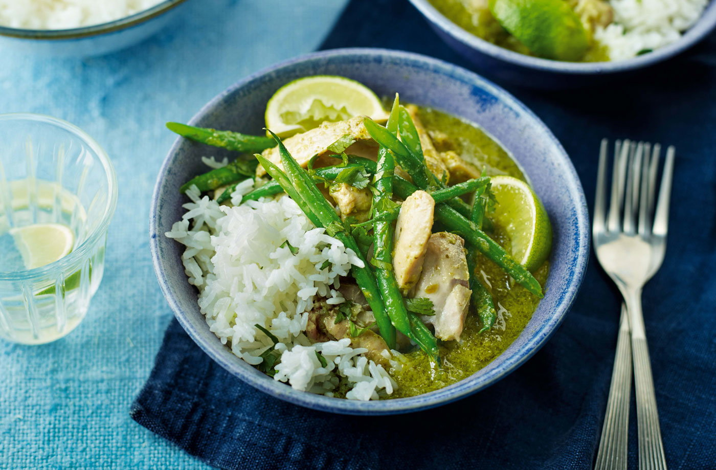Thai green curry | Tesco Real Food