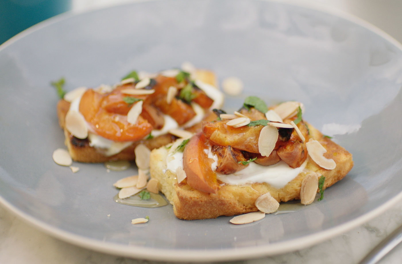 Griddled Apricots Apricot Recipes Tesco Real Food
