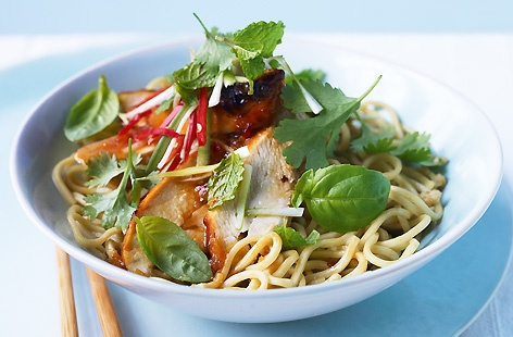 Grilled Thai Chicken with Aromatic Herbs thumb