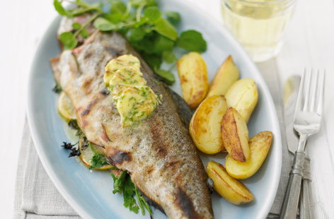 Grilled trout with almond butter hero 61c5455b a14d 44a3 8b5a f5df39e9740a 0 472x310