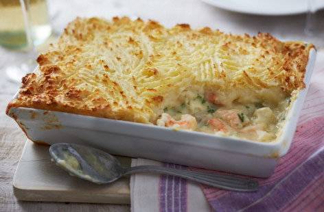 Dairy-free fish pie
