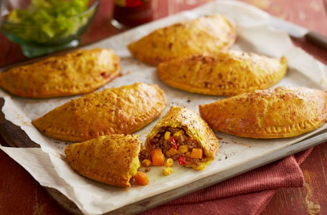 Jamaican spiced patties recipe