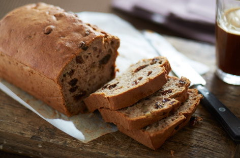 Jamaican walnut and banana bread