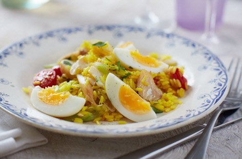 Dairy-free kedgeree