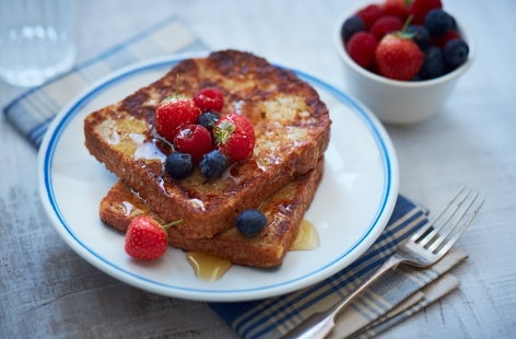 Multi-seeded French toast