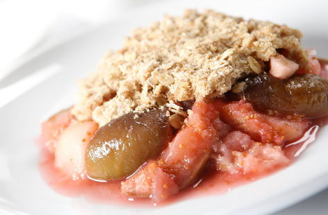 THUMBapple and fig crumble