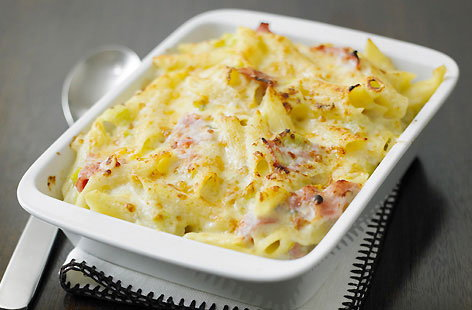 Ham and Leek Macaroni Cheese  hero a69155eb 5046 40f7 afe5 255707f47bbe 0 472x310