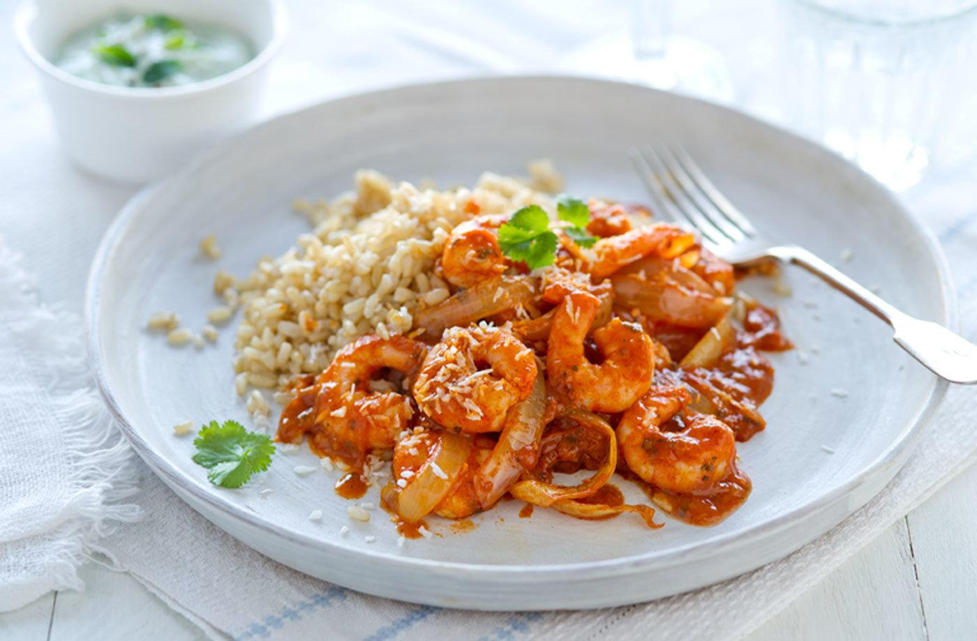 Healthy Food Recipes With Prawns