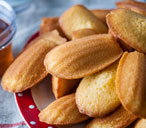 Honey baked madeleines a(t)