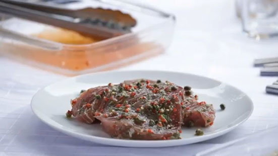 How to marinate meat or fish