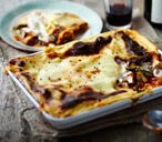 Baked vegetable lasagne