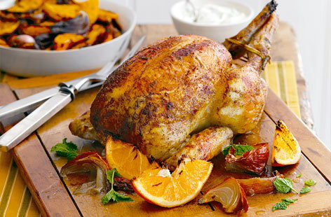 Indian Spiced roast chicken HERO