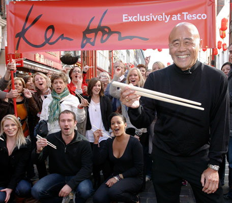 Ken Hom Tesco hero