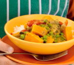 Kids' vegetable curry