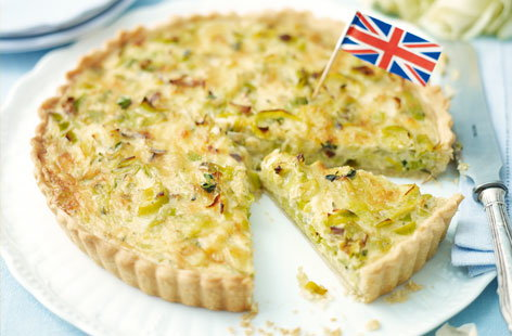 Leek and cheese tart THUMB