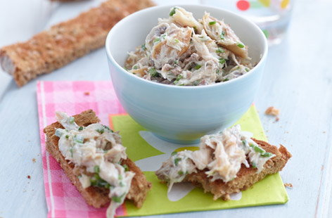 Smokey mackerel spread