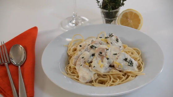 Matt Dawson  How to Make Chicken & Thyme Spaghetti