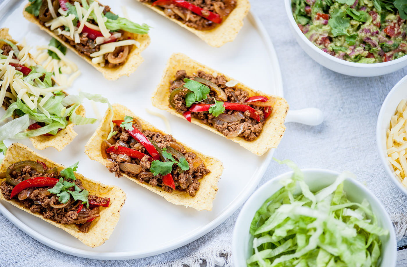 Matthew tomkinson 39 s spicy veggie tacos with guacamole for Classic starter recipes