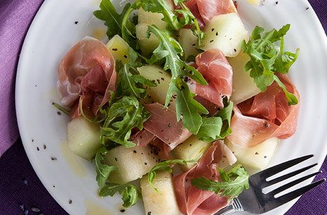 Melon And Nectarines With Parma Ham Recipes — Dishmaps