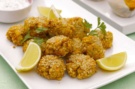 Mini chickpea and sesame patties Thumbnail bb478208 0aa8 4ef8 98ac d81310a14fe8 0 146x128