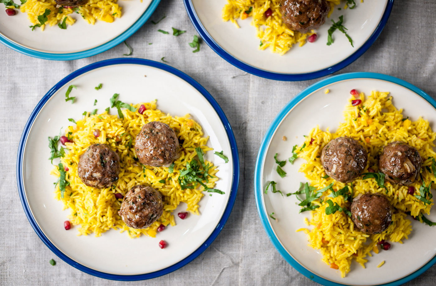 Marcus Wareing's spicy lamb balls | Tesco Real Food