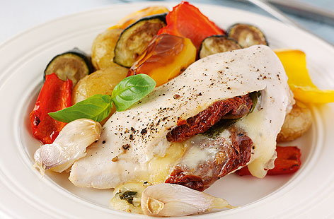 Mozzarella Stuffed Chicken