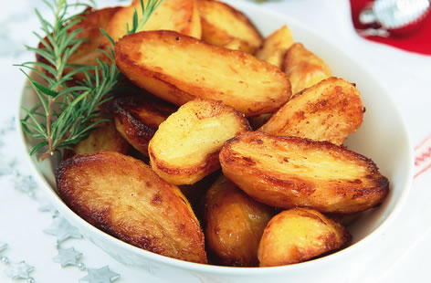 Novelli rosemary roasted potatoes