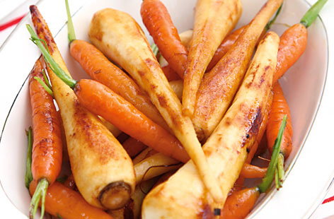 novelli honey glazed carrots
