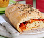 Pancetta and pepper picnic loaf
