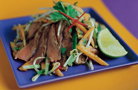 Papaya salad with seared beef thumb bcccf7de 9b01 4ae2 ae2b bf95a4f5aff3 0 146x128