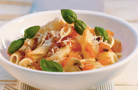 Parioli Arrabbiata with penne THUMB