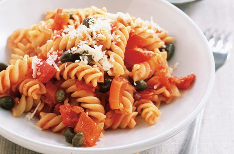 Parioli Basilico with fusilli THUMB