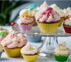 Frances Atkins' party fairy cakes