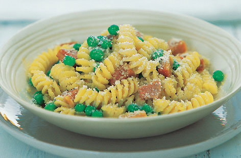 Pasta with ham and peas thumb 2d366ead d979 4b0e 8027 58ae841b2f3e 0 146x128