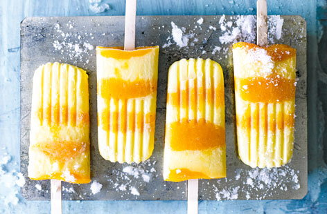 What better way to cool down than with a gorgeous ice cream or refreshing lolly? For summery sweet treats take a look at our easy recipes