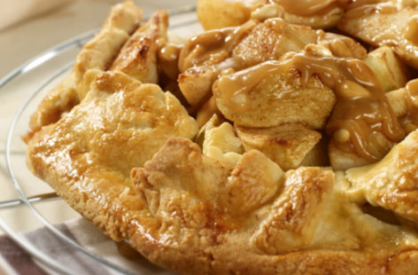 Pear apple gallette HERO
