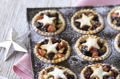 Pink Lady apple and mincemeat tarts