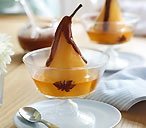 Poached golden pears with chocolate sauce thumb 55e1e949 5aca 4ac4 b4b4 7bf7d6bcd78d 0 146x128